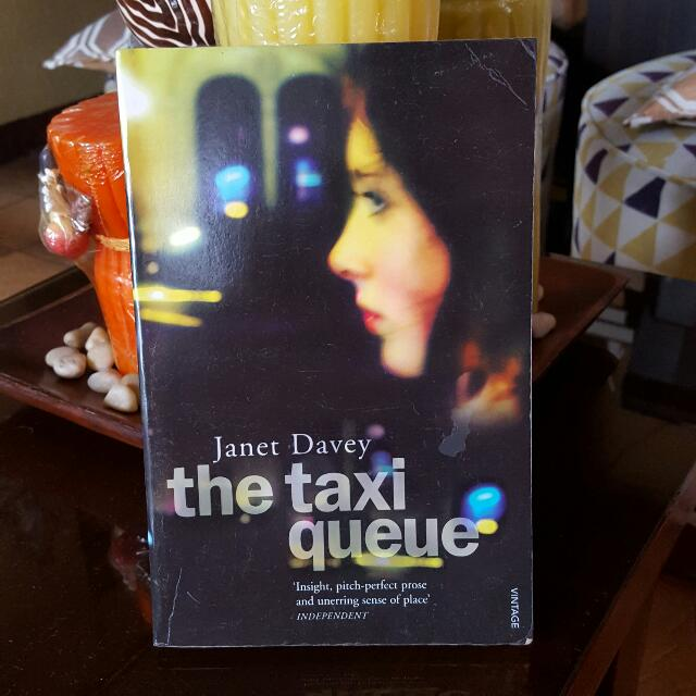 The Taxi Queue By Janet Davey