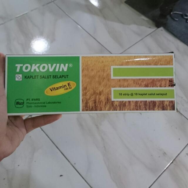 Tokovin Vitamin E 100 IU