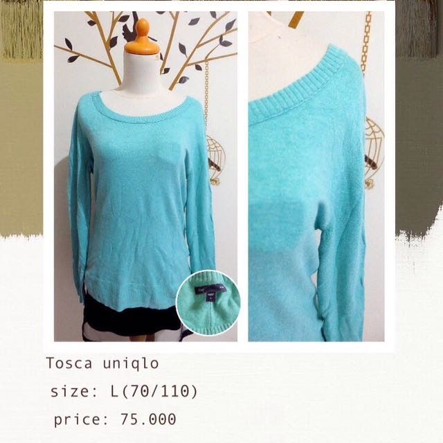Uniqlo Tosca Sweater