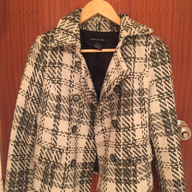 Vintage Under The Table Coat