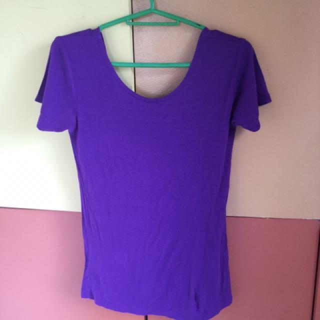 Violet Basic Blouse