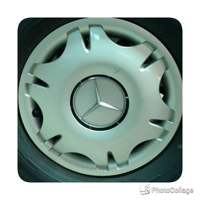 Volkswagen Crafter (福斯大T5) 賓士輪圈蓋4個