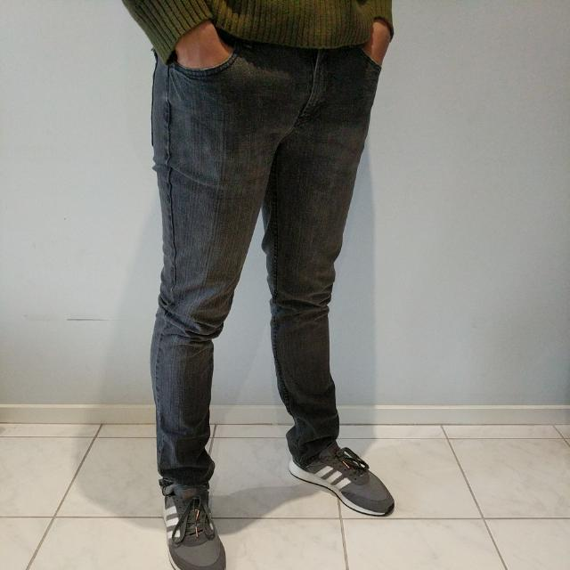 Washed Out Grey Jeans