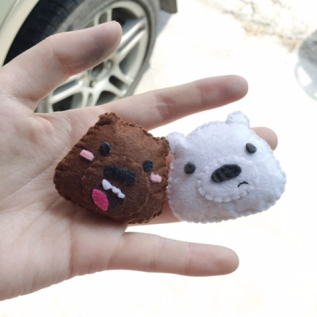 We Bare Bears Brooch