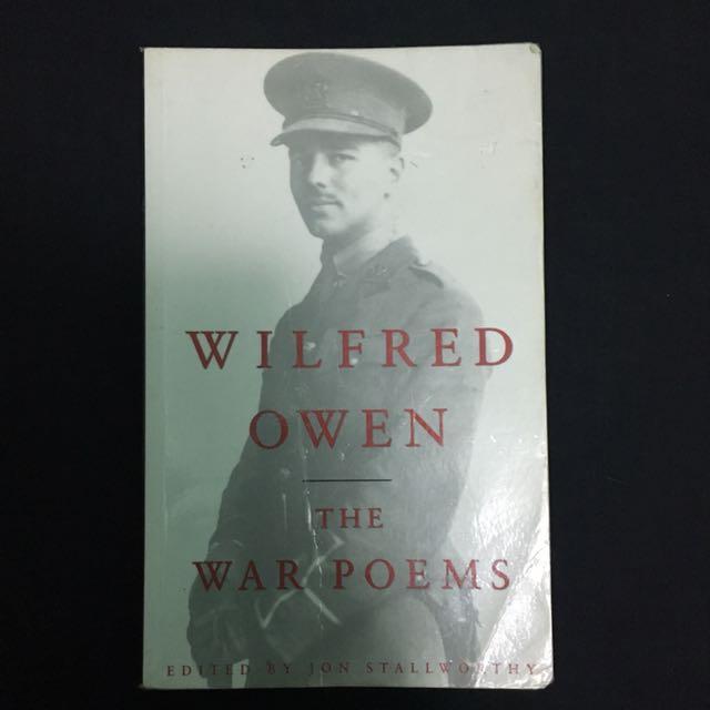 Wilfred Owen The War Poems