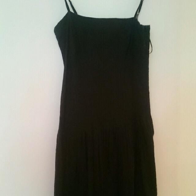 Witchery Black Dress Size 8