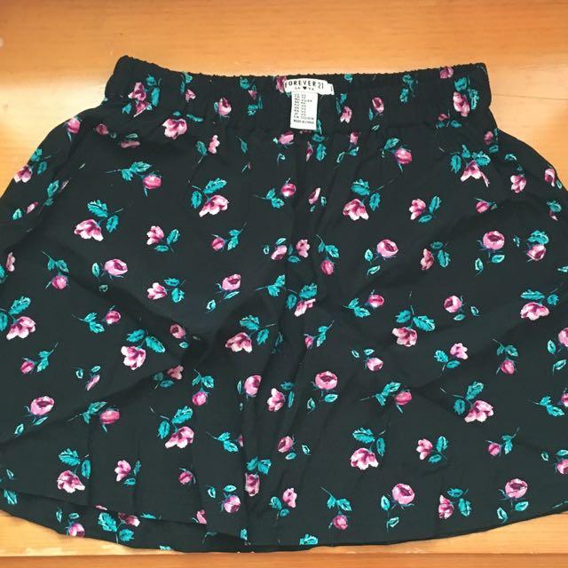 XXI Floral Skirt