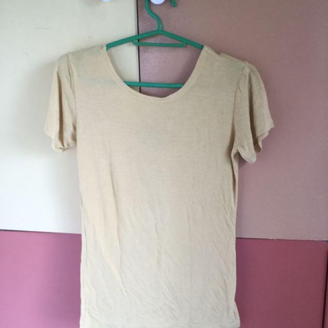 Yellow Basic Shirt