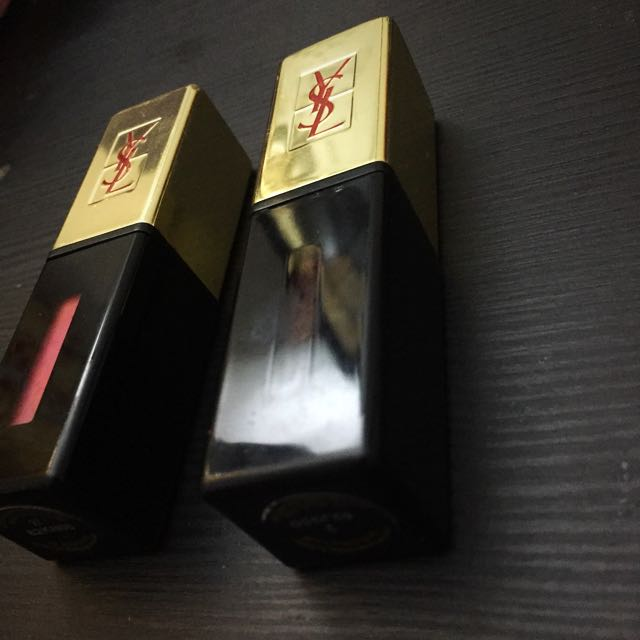 2 For 250k YSL Rouge Pur Couture Vernis A Levres