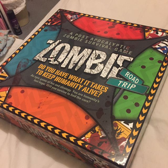 Zombie Road Trip Board Game Brand New