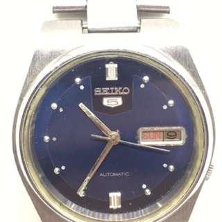 Seiko 5 Vintage Blue Dial Automatic