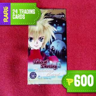 Tales of Destiny 2 Trading Cards (FREE SHIPPING)