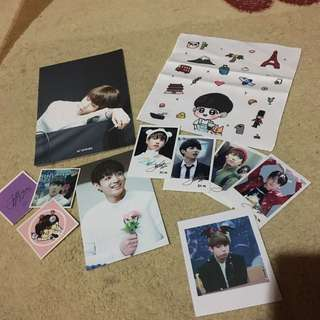 Jungkook Fansite Handkerchief Set (selling Fast)