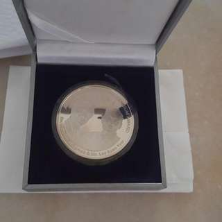 Founding Father Of  Singapore Mr Lee Kuan Yew & Dr.Mahatir Silver Coin Item Sold Money Not Refundable Selling Behalf Of My Friend