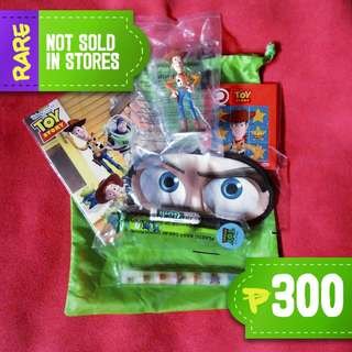Toy Story PAL Junior Jetsetter's Kit Circa 2013