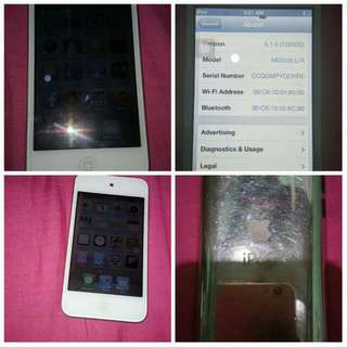iPod Touch 4th Gen. 64 GB (Negotiable Price)
