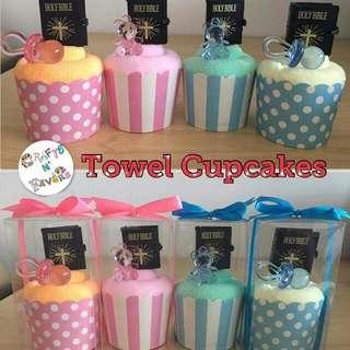 Towel Cupcake Souvenirs