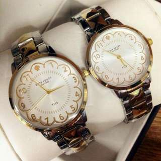 Kate Spade couple watch