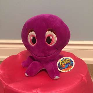 Friends For Shore Purple Octopus