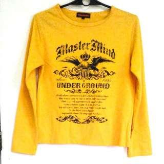 Mustard Sweater/Long sleeves