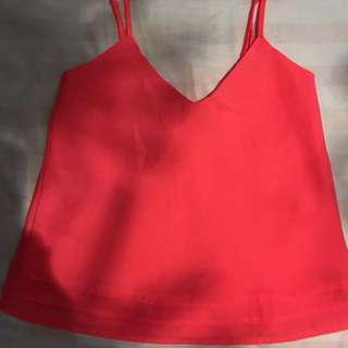 Aritzia Hot Pink Tank Top