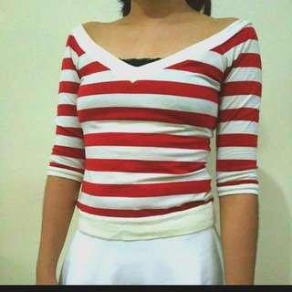Stripes Kamiseta Top