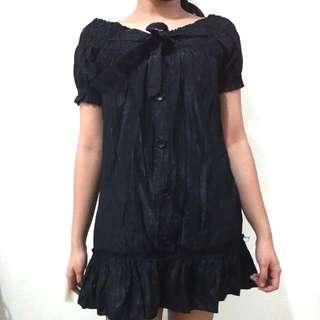 Black Dress/Long Top