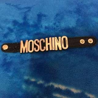 Gelang Moschino Hitam
