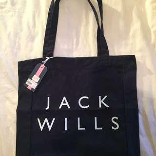🇬🇧全新正品Jack Wills帆布袋