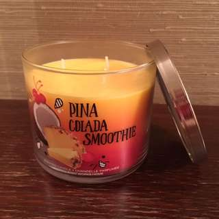 Piña Colada Smoothie 3-wick candle