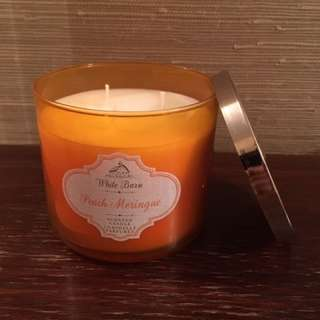 Peach Meringue 3-wick candle