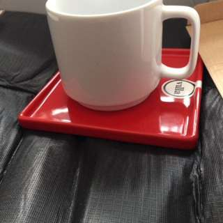 4x Vintage Style Cafe Mugs