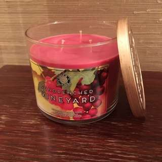 Sundrenched Vineyard 3-wick candle