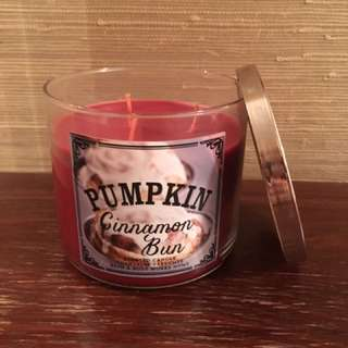 Pumpkin Cinnamon Bun 3-wick candle
