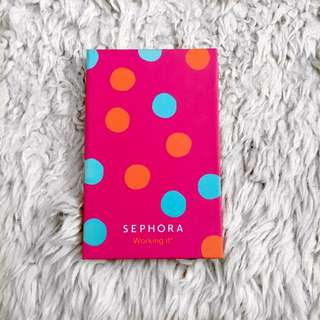 """Sephora Collection My Beauty Notebooks In """"Working It"""""""