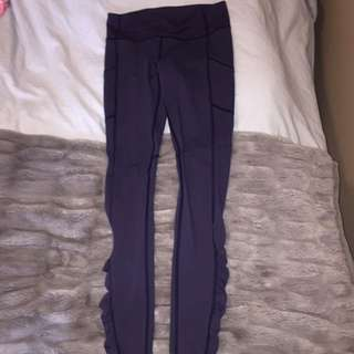 Lululemon Navy Blue Leggings - Size 6
