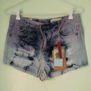 Pull And Bear High Waist Shorts