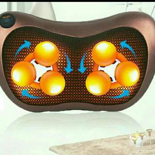 Massager For Head Neck Back Warm Soothing Action. Good For Back Ache