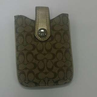 Pre-loved Authentic Coach iPhone4s Holder