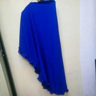 Khimar Warna Biru