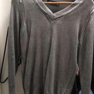 Peter Morrissey Silver Jumper Sweater