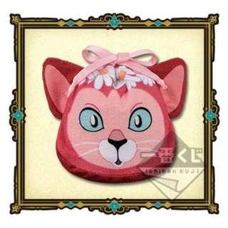 一番賞 D賞 愛麗絲夢遊仙境 貓貓毛巾小袋 全新未開封