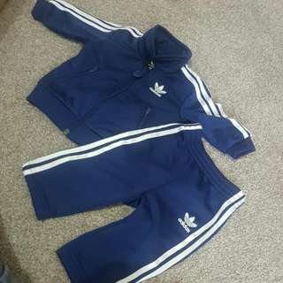 Baby Adidas Tracksuit