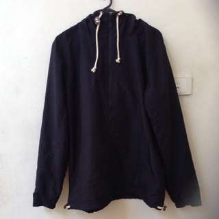 Mr Simple M Navy Anorak