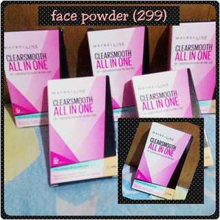 Maybelline Face Powder (SPF 32)