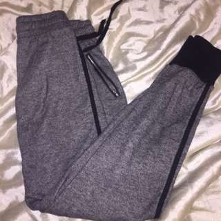 Grey and Black Comfy Joggers