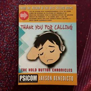 Thank You for Calling (The Hold Button Chronicles)