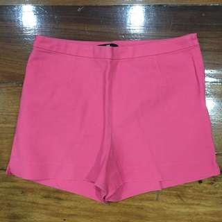 H&M Pink High Waisted Shorts