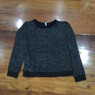 Stradivarius Sweater Gray