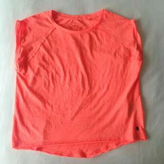 Neon Orange Comfy Shirt